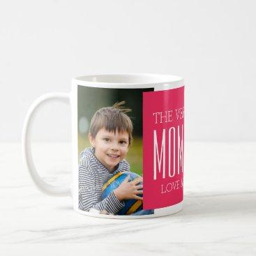 Custom Photo Mother's Day Mug Fuchsia