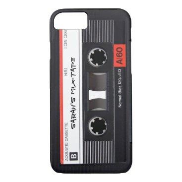 Custom Retro Cassette Tape iPhone 8/7 Case