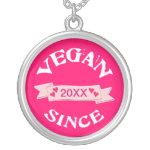 Custom Vegan Jewelry