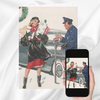 Customizable Christmas Shopping card