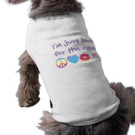 Customizable Emoji Dog Shirt -Peace, Love, Unicorn