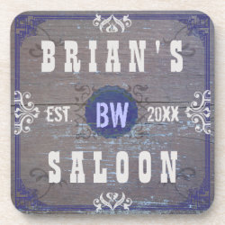 Customizable Home Bar Beer Saloon Drink Coasters