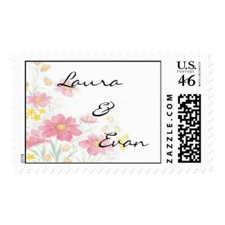 customizable Wedding stamp