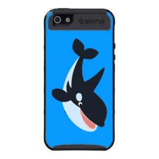 Cute Cartoon Orca Skinit iPhone 5 Cargo Cases iPhone 5 Cases