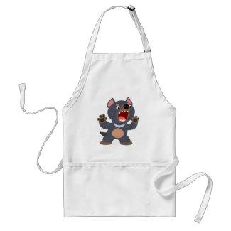 Cute Cartoon Tasmanian Devil Apron