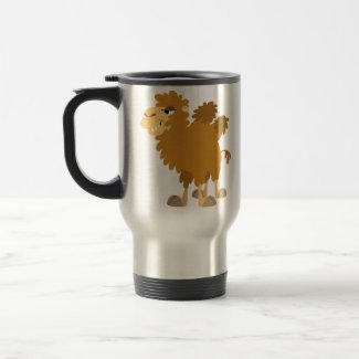 Cute Cartoon Two-Humped Camel Commuter Mug mug