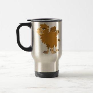 Cute Cartoon Two-Humped Camel Commuter Mug mug