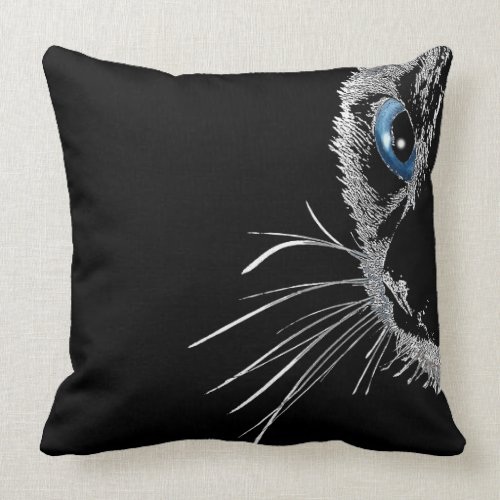 Cute Cat Eye throwpillow