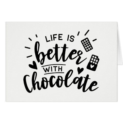 Cute Chocolate Addict - Hello, Thinking of you,