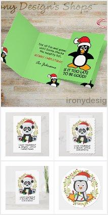 Cute Christmas Card Theme