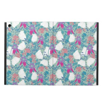 Cute colorful vintage floral pattern case for iPad air
