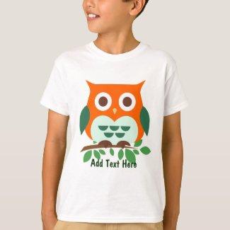 Cute Custom Owl T-Shirt