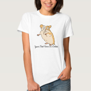 Cute Customize Hamster Design Shirt