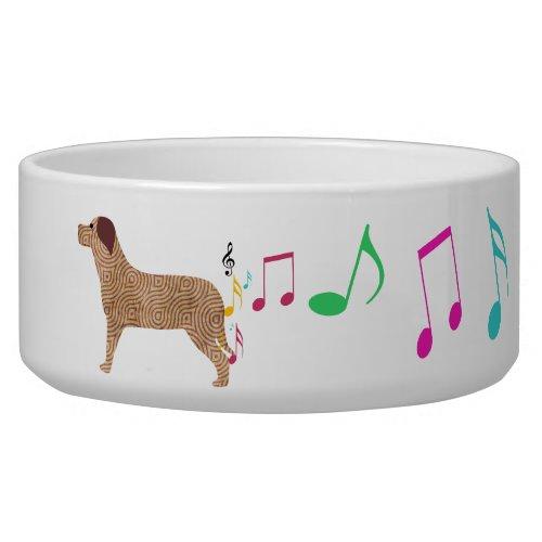 Cute Doggie Music petbowl