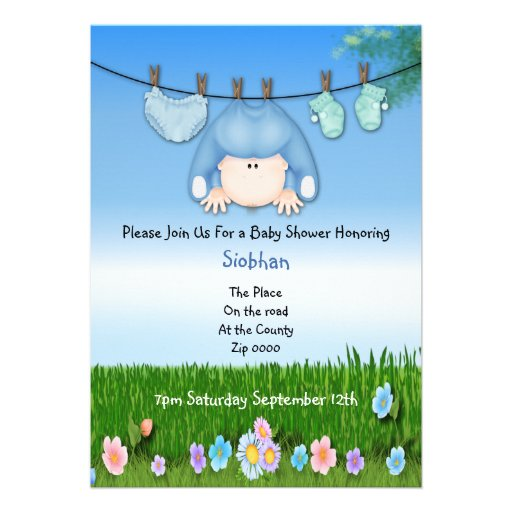 Funny Baby Shower Invitations