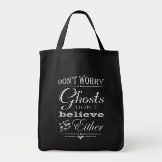 Cute Ghosts Don't Believe in You Halloween Bag