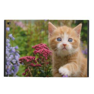 Cute Ginger Cat Kitten in a Garden, hardcase Powis iPad Air 2 Case
