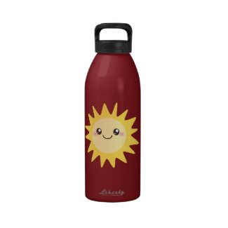 Cute Happy Sun Drinking Bottles