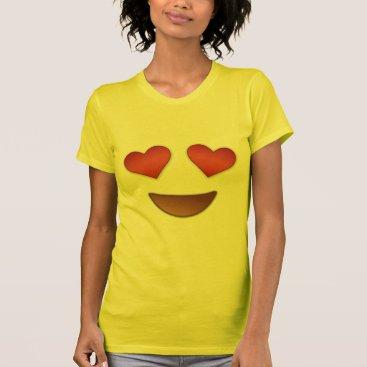 Cute Heart for eyes emoji T-Shirt