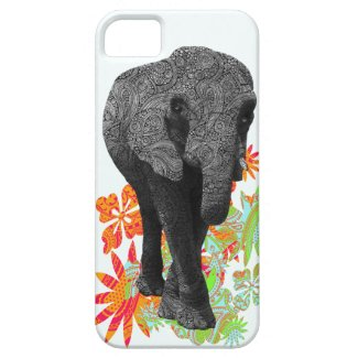 Cute Hippie Elephant iPhone5 cases