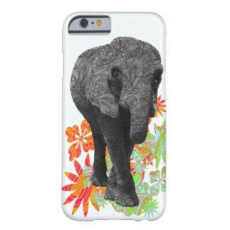 Cute Hippie Elephant iPhone 6 case
