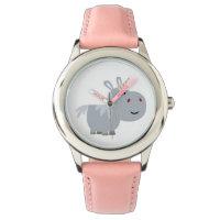 Cute Inscrutable Cartoon Unicorn Watch