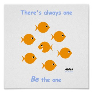 Cute Inspirational Teacher's Classroom Poster print