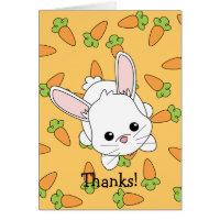 Cute Lil' Bunny - Customized Card