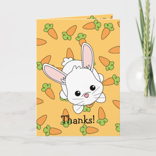 Cute Lil' Bunny - Customized Holiday Card