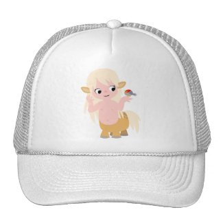Cute Little Cartoon Centauress Hat hat