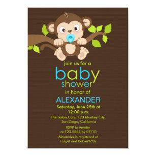 Boy Monkey Baby Shower Gifts On Zazzle