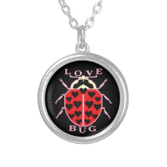 Love Bug Ladybug with Hearts Jewelry