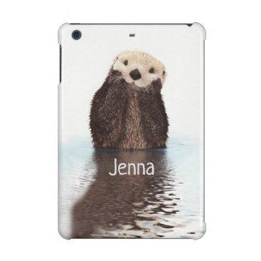 Cute Otter in Water iPad Mini Case