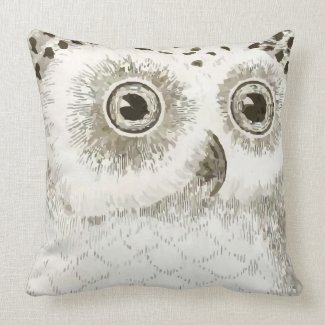 Cute Owl Gray Gender Neutral New Baby's Room