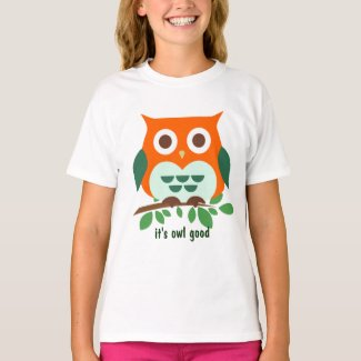 Cute Owl It's Owl Good T-Shirt