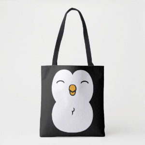 Cute Penguin Tote Bag