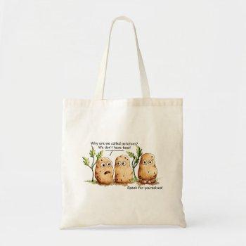 Cute Potatoes Toes Funny Potato Pun  Tote Bag