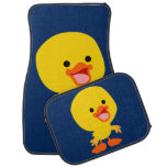 Cute Smiling Cartoon Duckling Car Mats Floor Mat