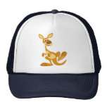 Cute Thumping Cartoon Kangaroo Hat