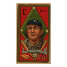 Cy Young, Cleveland Naps Print