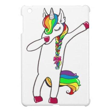 Dab unicorn cover for the iPad mini