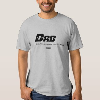 Dad Creating Awesome Humans Since XXXX Shirt