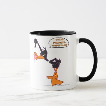 Daffy Speech Bubble Mug