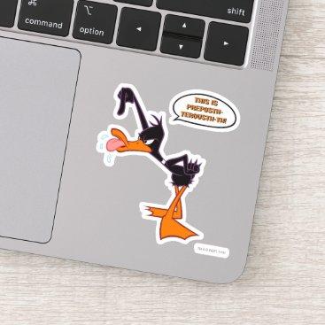 Daffy Speech Bubble Sticker