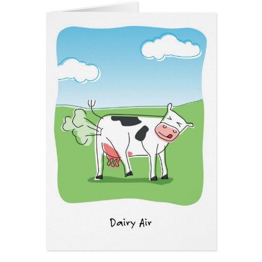 Dairy Air Cow Fart Funny Birthday Card Zazzle