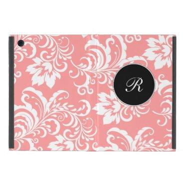 Damask Monogram iPad Mini Cases