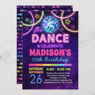 teen birthday invitations zazzle