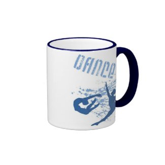 Dance (blue) 2-Sided Mug