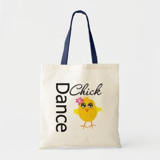 Dance Chick Canvas Bag