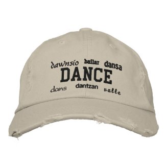Dance - Embroidered Hat